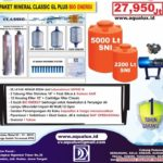 Harga Paket Mineral Clasic GL Plus Bio Energi – Rp. 27.950.000